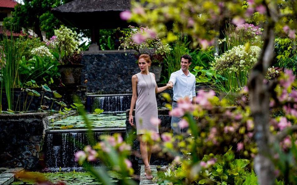 Resort garden
