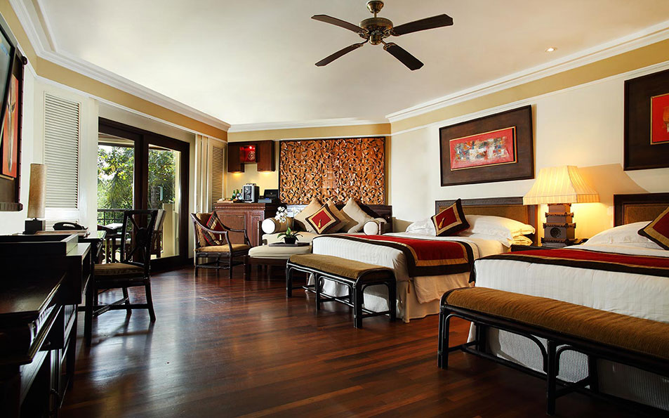 CLub InterContinental Room Twin Bed